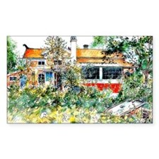 The Cottage, Carl Larsson pain Decal