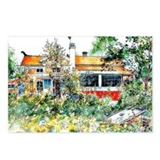 The Cottage, Carl Larsson Postcards (Package of 8)