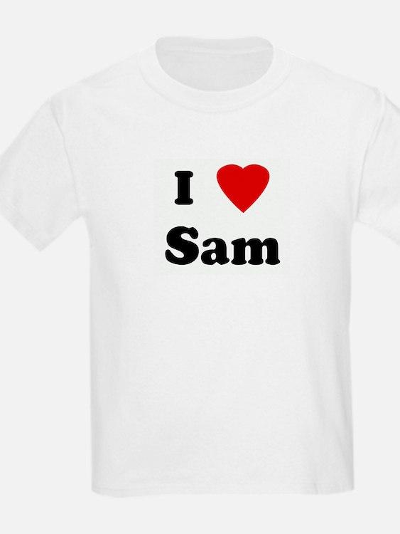 I Love Sam Kids T-Shirt