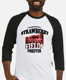Strawberry Fields Beatle Baseball Jersey