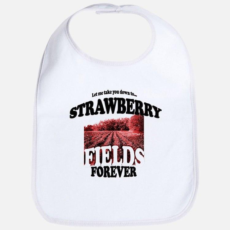 Strawberry Fields Beatle Bib
