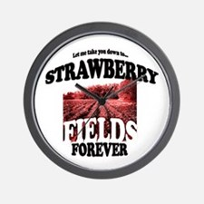 Strawberry Fields Beatle Wall Clock