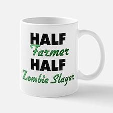 Half Farmer Half Zombie Slayer Mugs