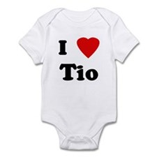 I Love Tio Infant Bodysuit