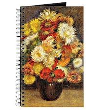 Renoir - Bouquet of Chrysanthemums Journal