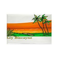 Key Biscayne, Florida Rectangle Magnet