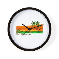 Key Biscayne, Florida Wall Clock