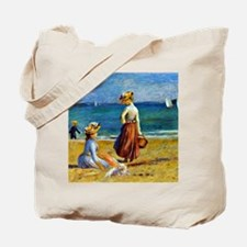 Renoir - Figures on the Beach Tote Bag