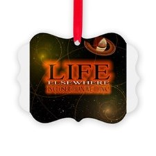 Life Elsewhere In The Universe Ornament