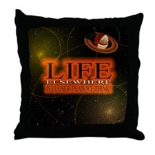 Life Elsewhere In The Universe Throw Pillow