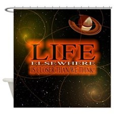 Life Elsewhere In The Universe Shower Curtain