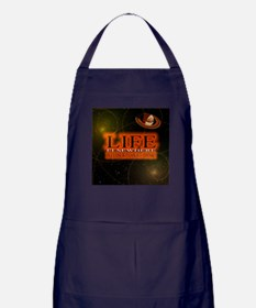 Life Elsewhere In The Universe Apron (dark)