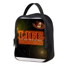 Life Elsewhere In The Universe Neoprene Lunch Bag