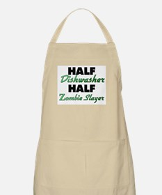 Half Dishwasher Half Zombie Slayer Apron