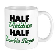 Half Dietitian Half Zombie Slayer Mugs