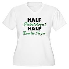 Half Diabetologist Half Zombie Slayer Plus Size T-