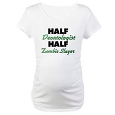 Half Deontologist Half Zombie Slayer Shirt