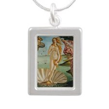Birth Of Venus (by Sandr Silver Portrait Necklace