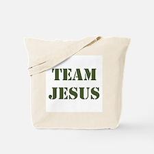 OD Green Team Jesus Tote Bag