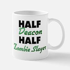 Half Deacon Half Zombie Slayer Mugs