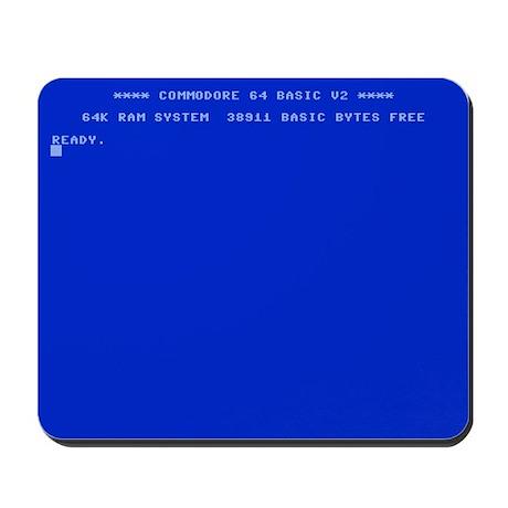 Commodore 64 Ready Mousepad