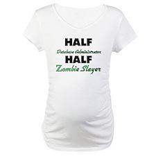 Half Database Administrator Half Zombie Slayer Mat