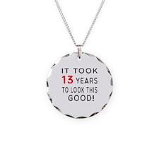 It Took 13 Birthday Designs Necklace