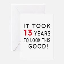 It Took 13 Birthday Designs Greeting Cards (Pk of
