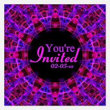 Electric Current Invitations