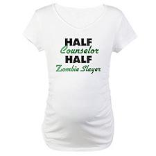 Half Counselor Half Zombie Slayer Shirt