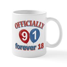Officially 91 forever 18 Mug