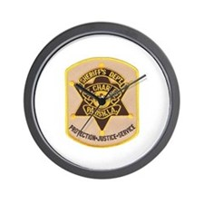St Charles Sheriff Wall Clock