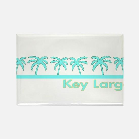 Key Largo, Florida Rectangle Magnet