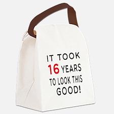 It Took 16 Birthday Designs Canvas Lunch Bag