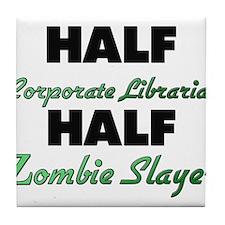 Half Corporate Librarian Half Zombie Slayer Tile C