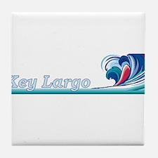 Key Largo, Florida Tile Coaster