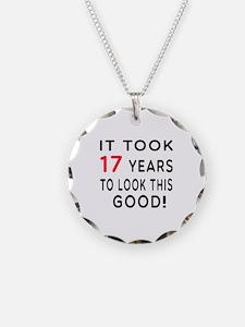 It Took 17 Birthday Designs Necklace