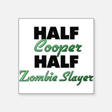 Half Cooper Half Zombie Slayer Sticker