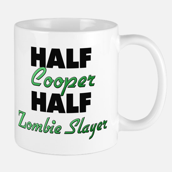 Half Cooper Half Zombie Slayer Mugs