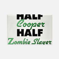 Half Cooper Half Zombie Slayer Magnets