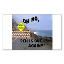 PCH IS OUT AGAIN Rectangle Decal