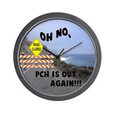 PCH IS OUT AGAIN Wall Clock