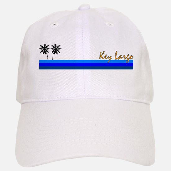 Key Largo, Florida Baseball Baseball Cap
