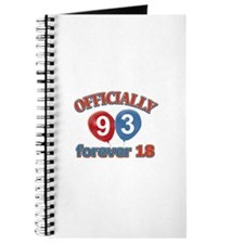 Officially 93 forever 18 Journal