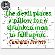 The Devil Places A Pillow Puzzle