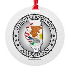 Illinois Chicago West Mission - LDS Mission T-Shi
