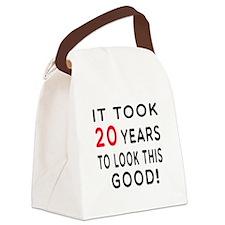 It Took 20 Birthday Designs Canvas Lunch Bag
