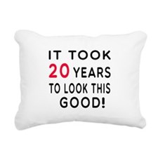 It Took 20 Birthday Designs Rectangular Canvas Pil