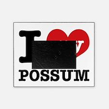 I love my possum Picture Frame