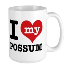 I love my possum Mug